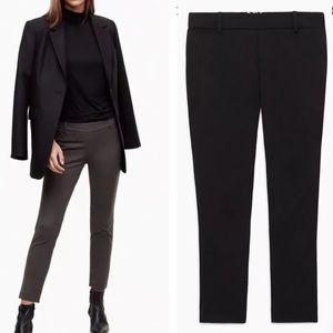 Aritzia Babaton Elliot Skinny Ankle dress pants 8